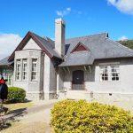 映画「繕い裁つ人」をみて憧れた旧平賀邸を訪ねた。